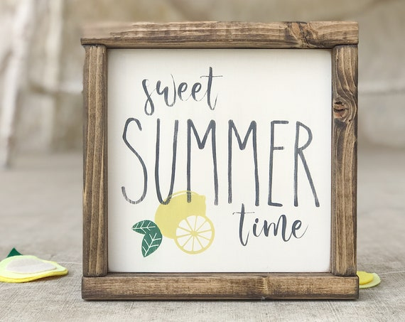 Sweet Summer Time | Kitchen Decor | Home Decor | Farmhouse