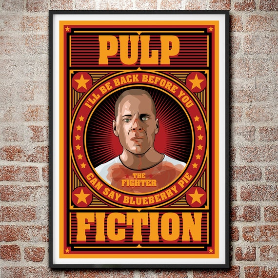 BUY 2 GET ANY 2 FREE THE BIG LEBOWSKI PULP FICTION POSTER PRINT A4 A3 SIZE