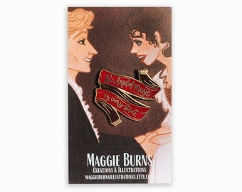 Phantom of the Opera Pin | the Angel of Music is Very Strict