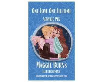 One Love One Lifetime | Acrylic Pin | Phantom of the Opera | Angel of Music | Broadway | Musical | Theatre | Broadway |West End
