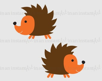 Hedgehog Vinyl Wall Decal for a Woodland or Forest Friends Nursery, Kids, Childrens Room 526