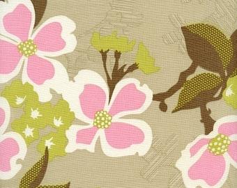 Joel Dewberry Fabric - Modern Meadow Collection - Dogwood Bloom- Pink