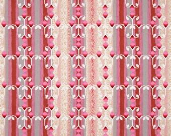 SALE - Nel Whatmore - Free Spirit Fabric - Memory Lane - Filigree - Brown - Choose Your Cut-1/2 or Full Yard