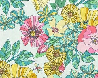New - Michael Miller - Joy - Grandiflora - Sprout - Tamara Kate - Choose Your Cut 1/2 or Full Yard