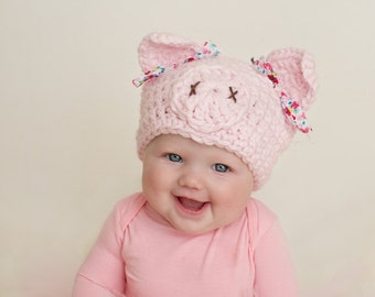 baby halloween costume pig costume pig hat newborn hat newborn girl hat baby pig hat girl hat baby girl pig hat halloween costume