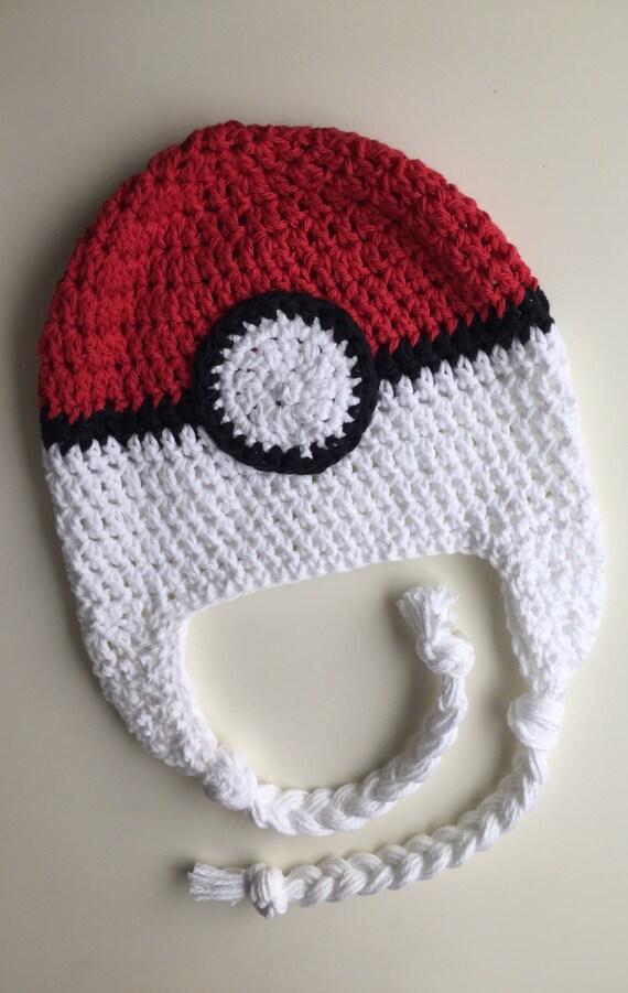 118a061c96db chapeau de Pokémon poké ball chapeau chapeau enfant poke   Etsy