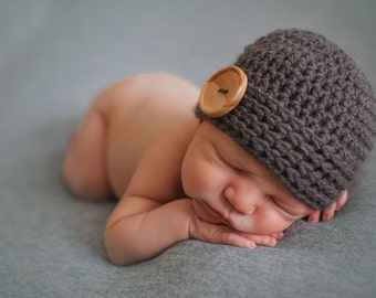 newborn boy hat, newborn hat,  baby boy hat,    boy hat, newborn boy,    baby boy hat,baby boy winter hat,baby hat, crochet baby hat