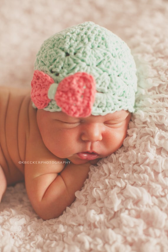 10024b03a42 newborn girl hat baby girl hat baby hat newborn girls hat