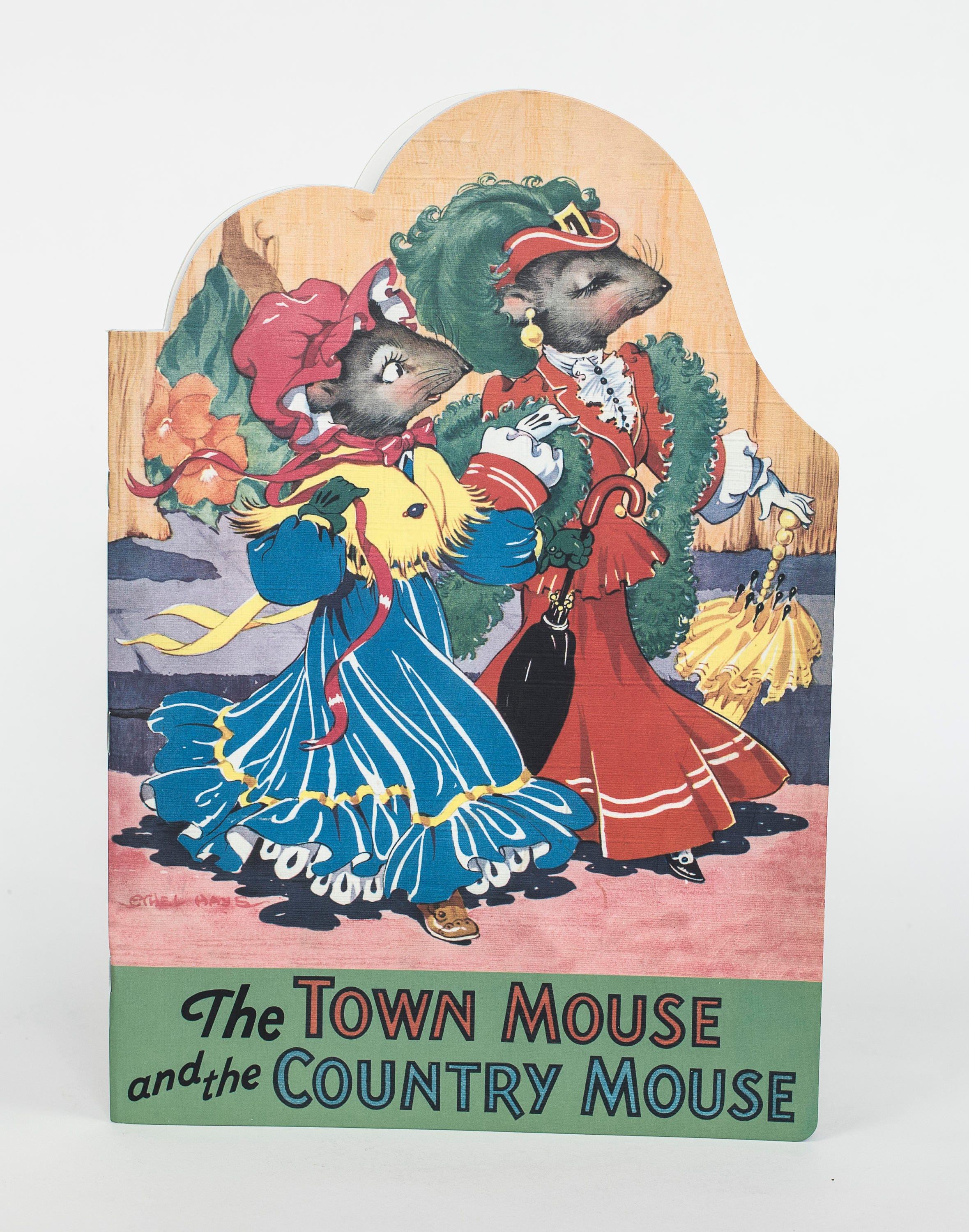 The Town Mouse And Country Storybook Etsy