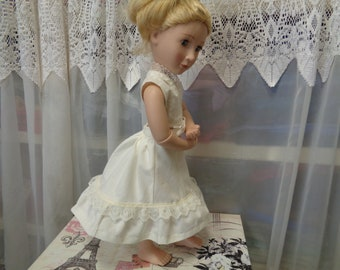 dc634bdf82ee Off White -1870s Petticoat Bustle-Slip- Made for A Girl For All Time Dolls-  Fits 16