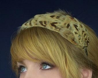 Pheasant Feather Headband | Pheasant Feather Crown | Pheasant Feather Headpiece | Pheasant Feather Fascinator | Wedding Fascinator