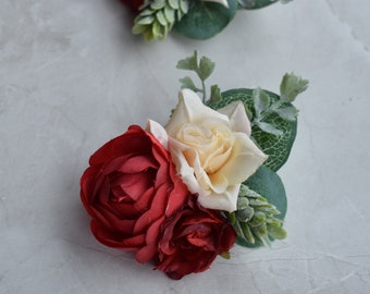 Silk Flower Clips