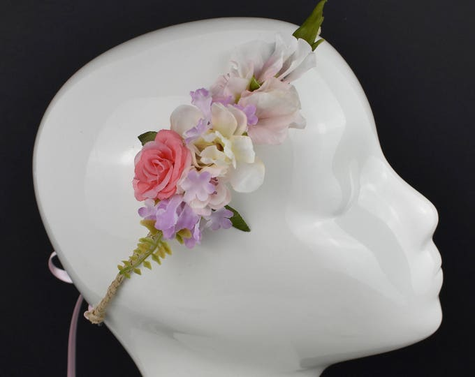 Pastel Mini Flower Crown Garland