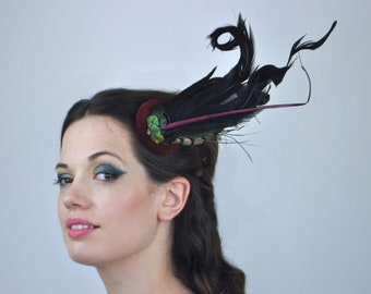 Feather Fascinators - Flora And The Fox 7300ab1ff90