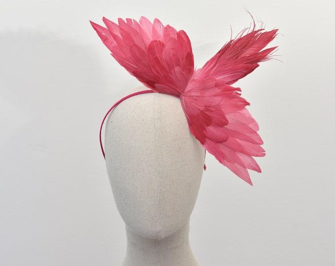 The Pink Flamingo - Bird Wing Headband