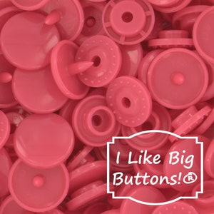 B12 Bronze KAM Snaps for Cloth DiapersBibsCraftsPlastic Snap Buttons Metallic