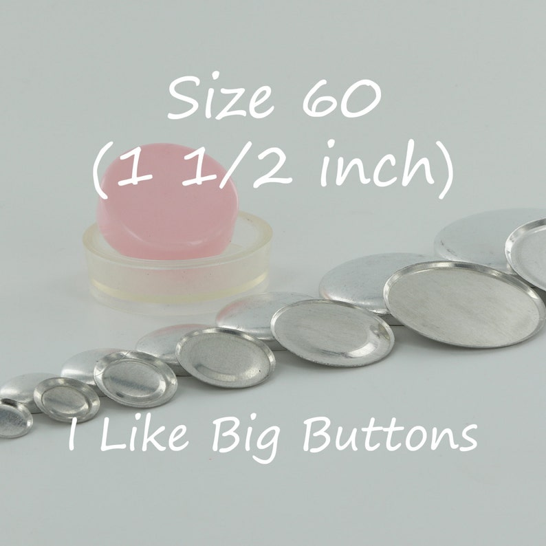 "3//4/""//19mm Fabric Cover SELF COVER 1 Cover//Covered Button Tool for Size 30"