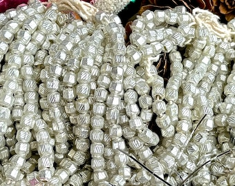 many antique glass beads antique pressed glass 1920
