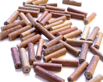 Kugelschreiber aus Haselnuss  100 Stück Holz Kuli Wooden pen  stylo en bois