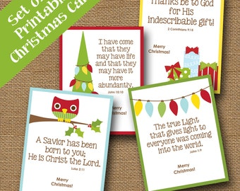 Instant download christmas card diy printable jesus etsy kids printable christmas cards cute scripture christmas cards diy printable instant download christmas card bible verse holiday card m4hsunfo