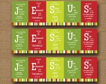 printable christmas bookmark jesus scripture bible verse christian bookmark diy printable bookmarks religious christmas bookmark