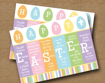 """Scripture Easter Card 