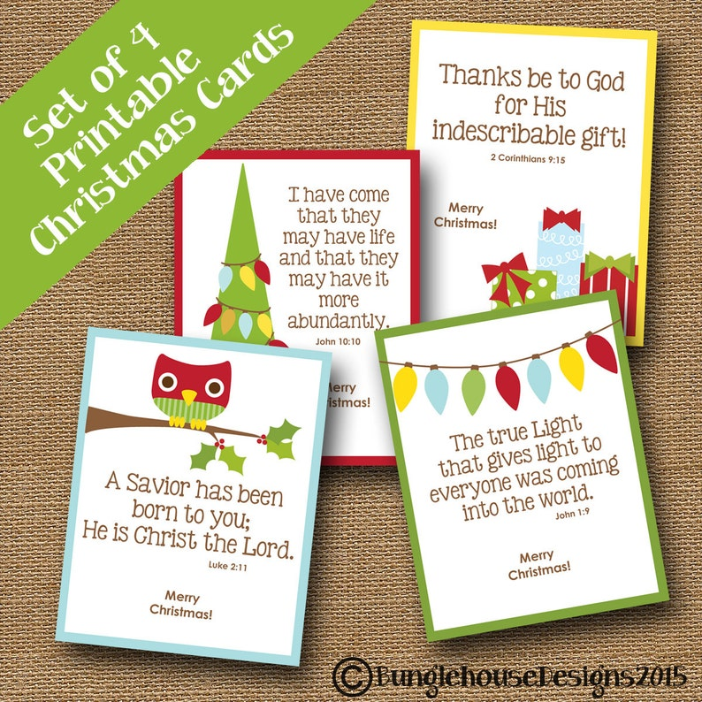 picture relating to Printable Christmas Cards for Kids named Young children Printable Xmas Playing cards Adorable Scripture Xmas Playing cards Do-it-yourself PRINTABLE Prompt Obtain Xmas Card Bible Verse Vacation Card