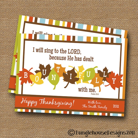 Printable thanksgiving scripture card bountiful fall leaves etsy image 0 m4hsunfo