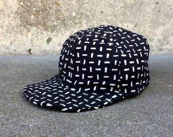 9b57fc03b8b26 Indonesian Cap -- Black and white patterned cap