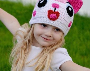 Unikitty Hat, Lego Movie, Uni-kitty, Princess unikitty, Crochet By Allie original design
