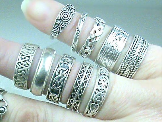 Silvertone Large Celtic Vine Cross You Are More Loved Bangle Bracelet
