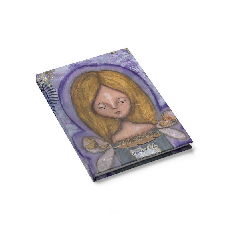 Creative Life Aura Angel Journal Notebook  Blank. Thoughts image 0