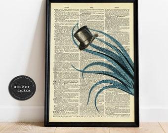 Ocean Bookpage Prints
