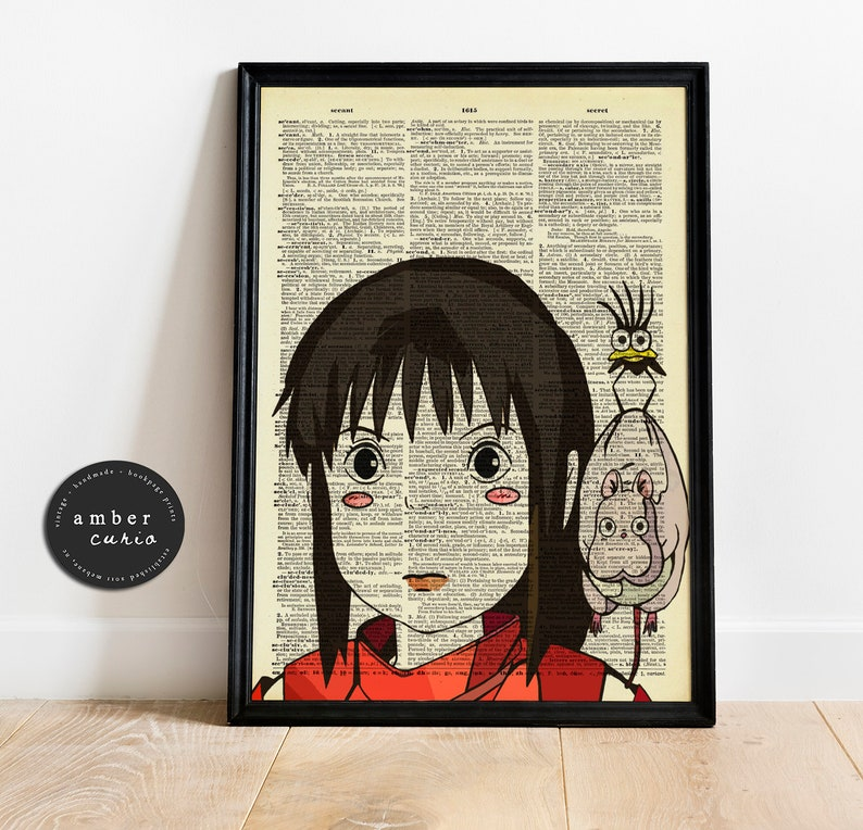 Chihiro Sen and Friends Spirited Away Studio Ghibli Inspired image 0