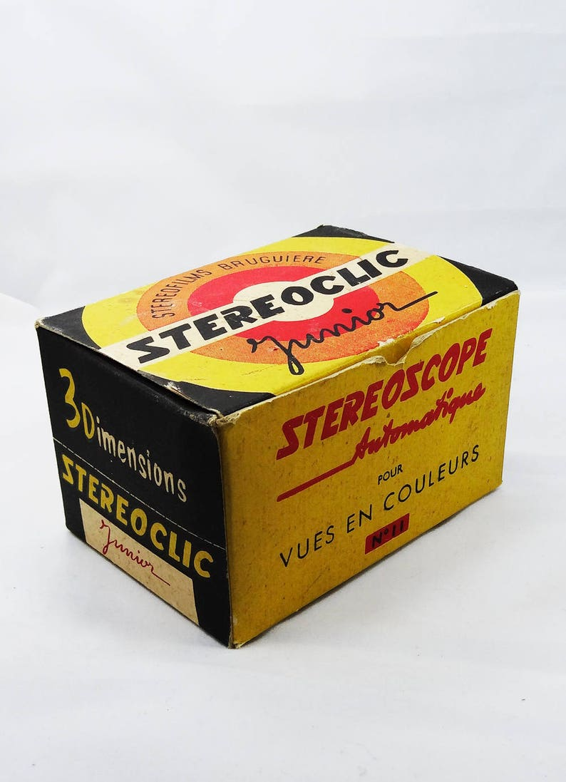 Vintage French Stereoclic Viewer  French Version of Mattel image 0