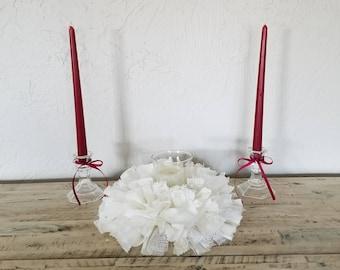 Unity Ceremony, Unity Ceremony Set, Wedding Unity Ceremony, Unity Candle, Unity Candle Holder, Unity Wedding Candle, Unity Wedding Ceremony
