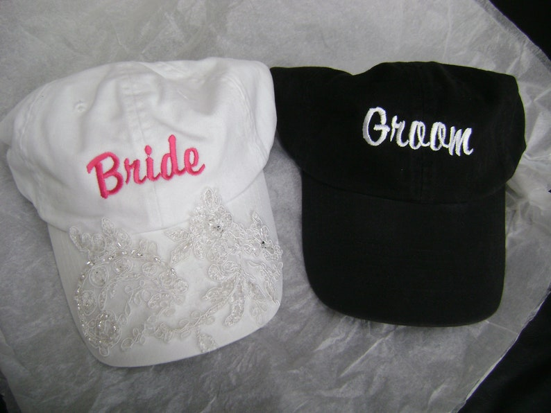 Wedding Baseball Cap set image 0