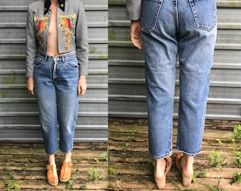 90s Calvin Klein Sport mid-rise jeans - size 10