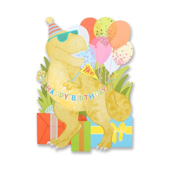 Tarjeta Troquelada Dinosaurios Feliz Cumpleanos Etsy Sol re cumpleaños felìz re sol cumpleaños felìz sol do cumpleaños fulanito sol re sol cumpleaños felìz. tarjeta troquelada dinosaurios feliz cumpleanos