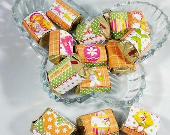 Digital Printable Hershey Nugget Easter Candy Wrappers-Easter Basket Treat