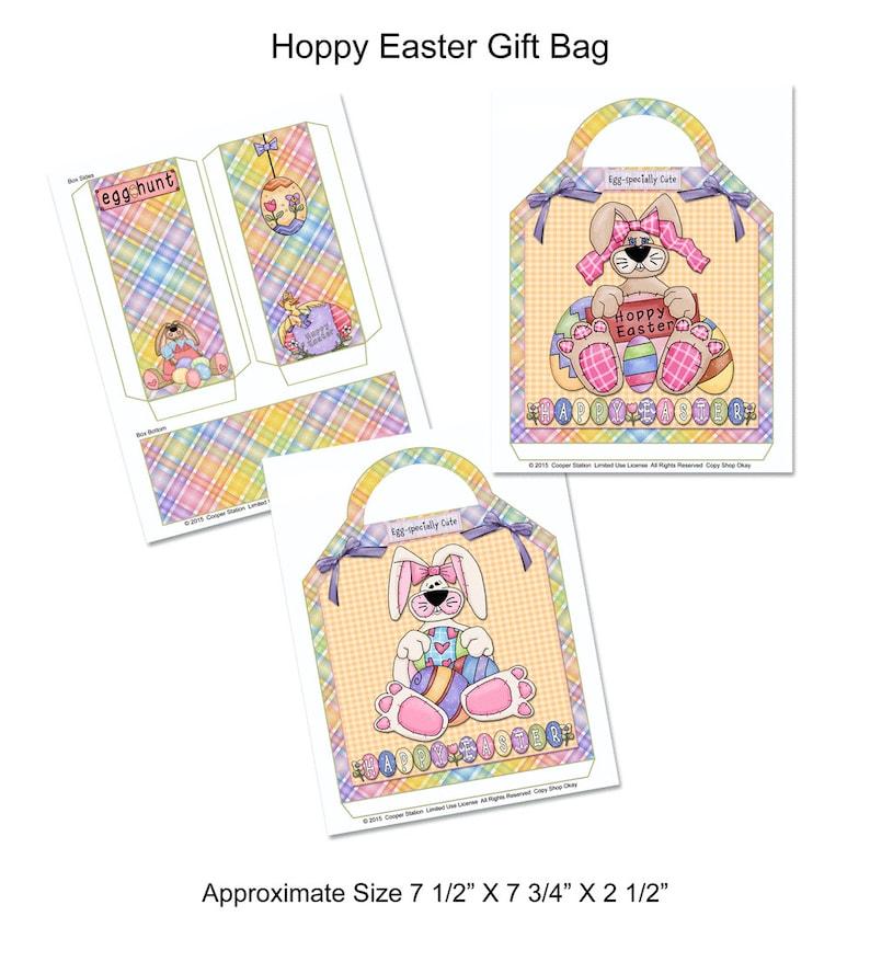Printable Easter Gift Bag