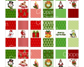 Digital Printable Holiday Hershey Nugget Candy Wrappers