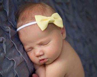 Baby Headband - Bow Headbands - Baby Girl Headband - Newborn Headband - Baby Bows - Baby Accessories - Baby Girl - Headbands - Bows - Baby
