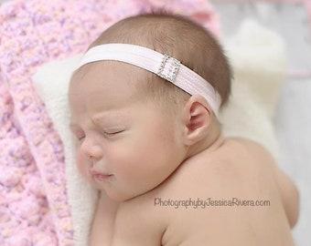 Rhinestone Headband, Photo Prop Headband, Newborn Prop, Baby Headband, Newborn Photo Prop, Prop Headband, Newborn Baby Girl, Newborn, Prop