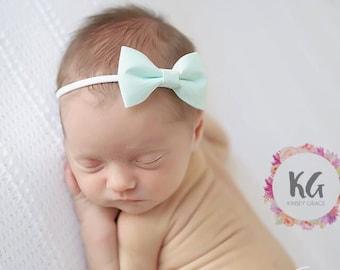 Baby Bow - Baby Headband - Baby Girl Headband - Newborn Headband - Bow Headband - Baby Girl - Infant Headband - Baby Accessories - Baby