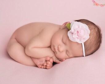 Baby Headband, Baby Girl Headband, Newborn Headband, Flower Headband, Infant Headband, Newborn Girl, Girls Headband, Pink Headband