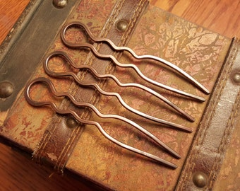 "Copper hair fork, 4"" Heavy duty"