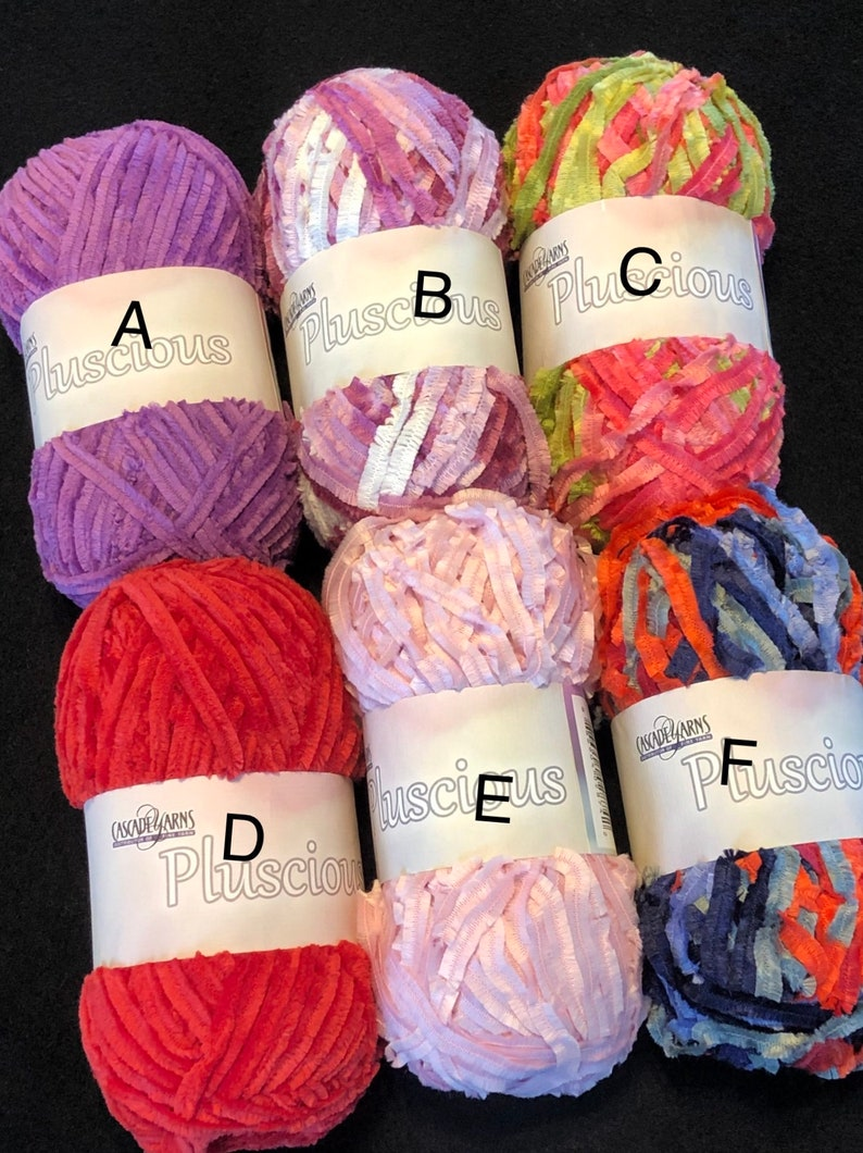 Cascade Pluscious yarn crochet knitting needle work pink image 0