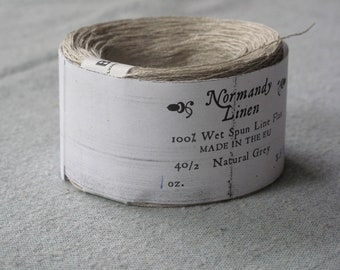 Natural Gray Normandy Linen 40/2
