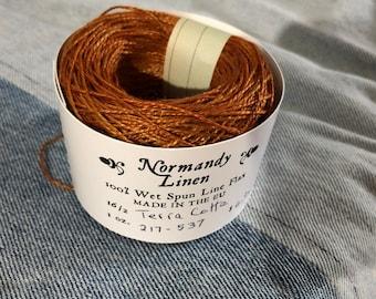 16/2 Terra Cotta Normandy Linen